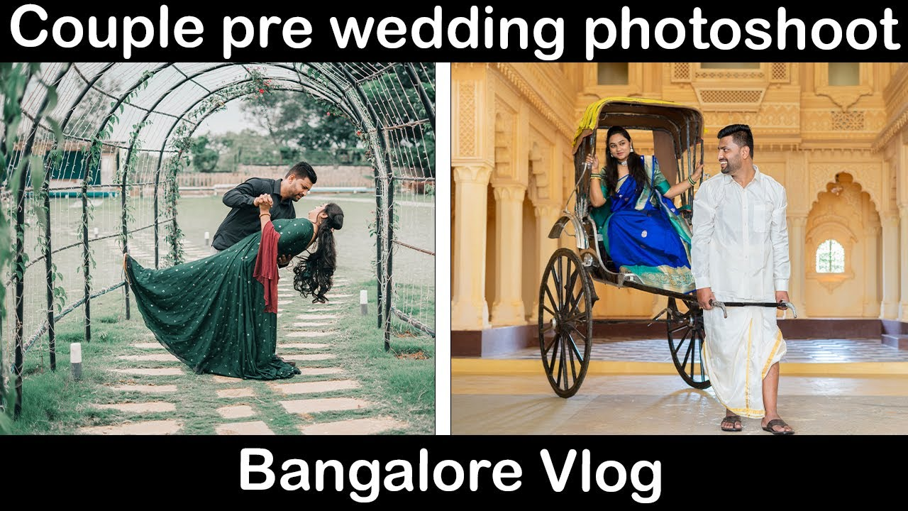 Pre Wedding Photoshoot in Bangalore By Siddharth Vaasudevan